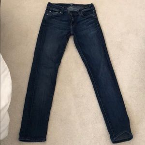 seven for all mankind jeans!